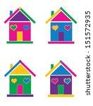 house | Shutterstock .eps vector #151572935
