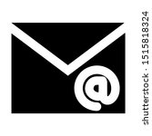 envelope and email icon with...