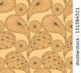 seamless pattern based on... | Shutterstock .eps vector #151584521