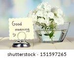 beautiful bouquet of phlox in... | Shutterstock . vector #151597265