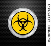 vector beware bio hazard sign... | Shutterstock .eps vector #1515976601