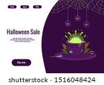 halloween sale ui ux page...