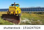 Big Yellow Bulldozer  Solar...