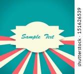 vintage background | Shutterstock . vector #151626539
