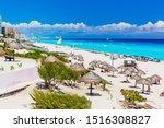 Cancun  Mexico. Dolphin Beach ...
