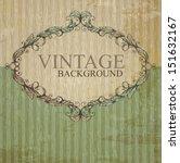 Stock vector vintage label 151632167