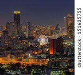 bangkok cityscape. bangkok... | Shutterstock . vector #151635755