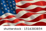 united stated flag. american... | Shutterstock . vector #1516383854