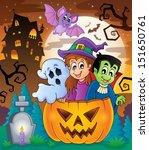 halloween character image 5  ... | Shutterstock .eps vector #151650761