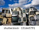 Junked Crts Computer Monitors ...
