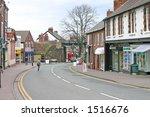 shops in frodsham village... | Shutterstock . vector #1516676
