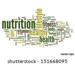 vector concept or conceptual... | Shutterstock .eps vector #151668095