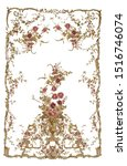 rug  antic  antique  vector ... | Shutterstock .eps vector #1516746074
