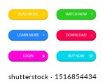 set of modern button for... | Shutterstock .eps vector #1516854434