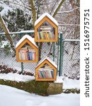 Sidewalk Library In Residentia...