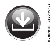 download button icon vector...