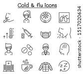 cold  flu  allergy   sick icon... | Shutterstock .eps vector #1517020634
