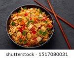 Schezwan Chicken Fried Rice In...