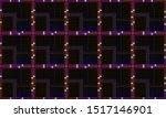 web neon line square background | Shutterstock . vector #1517146901