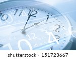 future technology and time... | Shutterstock . vector #151723667