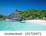similan islands  thailand ... | Shutterstock . vector #151726571