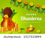 shubh dhanteras holiday... | Shutterstock .eps vector #1517315894