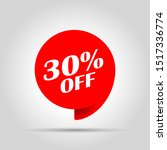 special offer sale red tag.... | Shutterstock .eps vector #1517336774