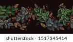 christmas and new year...   Shutterstock .eps vector #1517345414
