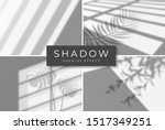 set of shadow overlay effects.... | Shutterstock .eps vector #1517349251