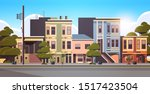 city building houses exterior...   Shutterstock .eps vector #1517423504