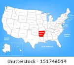 vector map of the united states ... | Shutterstock .eps vector #151746014
