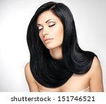 portrait of a beautiful...   Shutterstock . vector #151746521