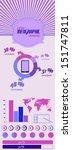 set elements of infographics | Shutterstock .eps vector #151747811