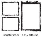 abstract grunge border frames... | Shutterstock .eps vector #1517486051