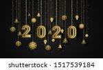design art label 2020 new year | Shutterstock . vector #1517539184
