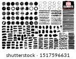 grunge brush strokes  lines.... | Shutterstock .eps vector #1517596631