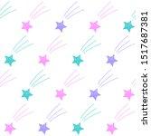 abstract seamless pattern... | Shutterstock . vector #1517687381