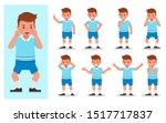 set of children character... | Shutterstock .eps vector #1517717837