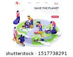 environmental cartoon  ecology... | Shutterstock .eps vector #1517738291