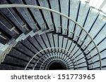 Spiral Staircase In Modern...