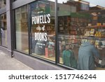 Small photo of Portland, OR, USA - Sep 27, 2019: Powell's headquarters, dubbed Powell's City of Books, in downtown Portland's Pearl District. It claims to be the world's largest independent new and used bookstore.