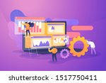 professional business research... | Shutterstock .eps vector #1517750411