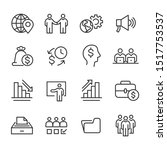 business and finance   line icon | Shutterstock .eps vector #1517753537