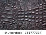 A Crocodile Texture Leather ...