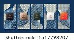 vector set packaging templates... | Shutterstock .eps vector #1517798207