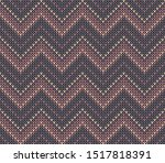 Knitted Pattern Seamless...