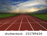 athlete track or running track... | Shutterstock . vector #151789634