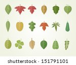 leaves | Shutterstock .eps vector #151791101