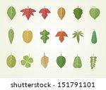 leaves | Shutterstock .eps vector #151791101