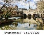pulteney bridge  bath  somerset ... | Shutterstock . vector #151793129